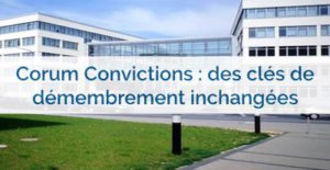 scpi en démembrement 2017 Corum Convictions en démembrement