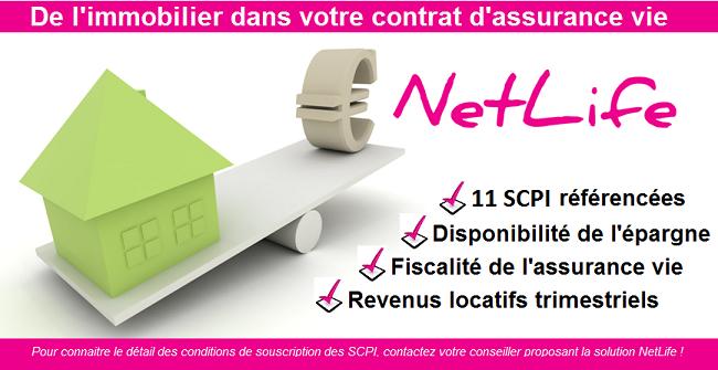 l'investissement SCPI - netlife